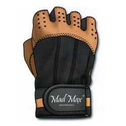 MAD MAX Rękawiczki - CLASIC MFG-248 (brązowe)