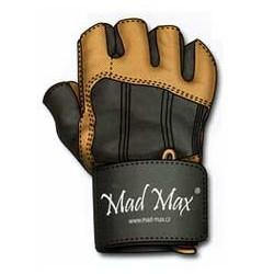 MAD MAX Rękawiczki - Professional MFG-269 (brązowe)