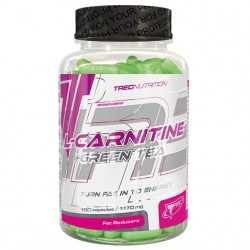 TREC NUTRITION L-CARNITINE + GREEN TEA 180 caps.