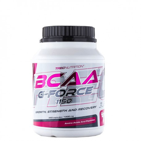 TREC NUTRITION BCAA G-FORCE (360 kaps.)