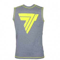 TREC WEAR Men's - RASH 008/SLEEVELESS/GRAY