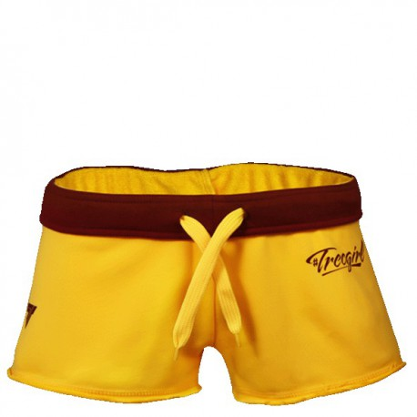 TREC WEAR Women's- TRECGIRL 001 - SHORT PANTS/YELLOW