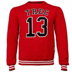 TREC WEAR MEN'S - TREC 13 - SWEATSHIRT 009/RED