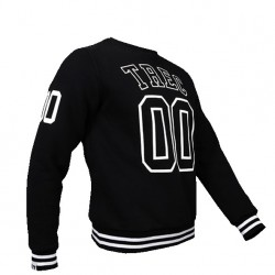 TREC WEAR MEN'S - TREC 00 - SWEATSHIRT 020/BLACK