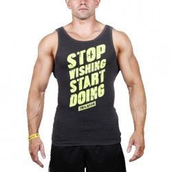 TREC WEAR MEN'S  - STOP - TANK TOP 010/GRAPHITE