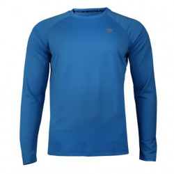 TREC WEAR MEN'S - COOLTREC 019 - LONG SLEEVE/BLUE