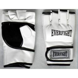EVERFIGHT Rękawice MMA - skóra (białe)