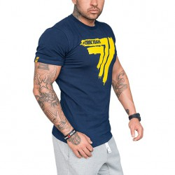 TREC WEAR MEN'S - PLAY HARD 007 - T-SHIRT/NAVY