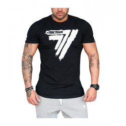 TREC WEAR MEN'S- PLAY HARD 010 - T-SHIRT/BLACK