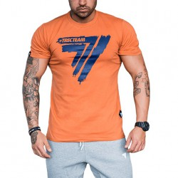 TREC WEAR MEN'S - PLAY HARD 008 - T-SHIRT/ORANGE