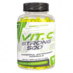 TREC NUTRITION VIT. C STRONG 500 - 100 CAP