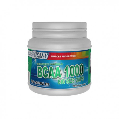 PACO POWER BCAA 2:1:1 1000 BIG SIZE CAPS (150 caps)
