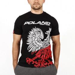 TREC WEAR MEN'S - TEAM POLAND - T-SHIRT 041/BLACK