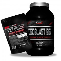 BLASTEX Isoblast 95 2,27 kg + VitargON 750 g GRATIS