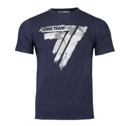 TREC WEAR T-SHIRT PLAYHARD 014 CAMO NAVY MELANGE