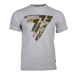 TREC WEAR T-SHIRT PLAYHARD 013 CAMO GREY MELANGE