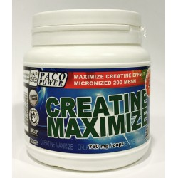 PACO POWER Creatine Maximize Caps 200 kapsułek