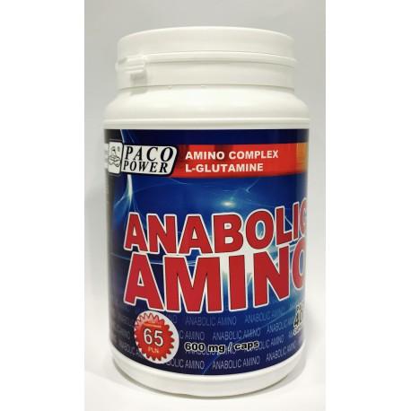 PACO POWER Anabolic Amino Pack 400 kapsułek