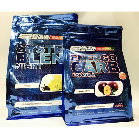 PACO POWER System Blend Night 2,2Kg + Energo Carb Formula 1kg !!