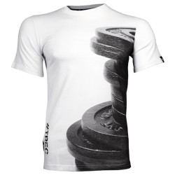 Trec Wear  T-SHIRT 031 - WEIGHT - WHITE