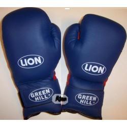 Green Hill Rękawice bokserskie LION 12 - niebieskie