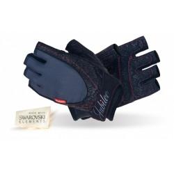 Mad Max rękawiczki damskie z kamieniami Swarovskiego