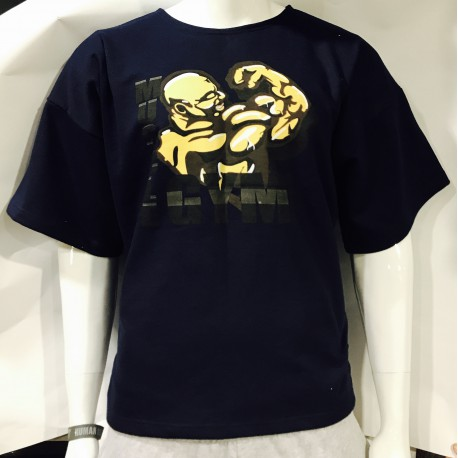 Mordex Koszulka treningowa granatowa