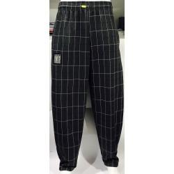 Mordex spodnie długie treningowe szare w krate