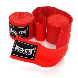 Meteor Bandaż bokserski 4,5m czerwone