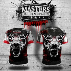 "MASTERS Koszulka treningowa FIGHTWEAR COLLECTION - WILD SIDE ""WOLF"""