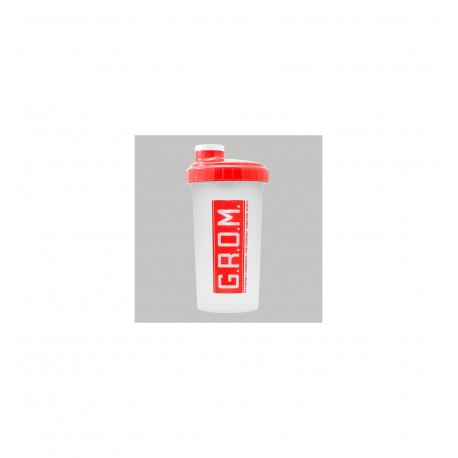 TREC SHAKER 700 ml semi-trans /red G.R.O.M