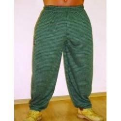 Mordex spodnie długie treningowe zielone(mała kratka)