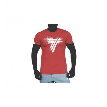 Trec Wear TSHIRT 051 SPLASH RED