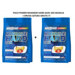 PACO POWER Maximize Hard Gain 1 Kg + DRUGA GRATIS!!!
