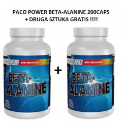 PACO POWER BETA-ALANINE 200 CAPS + DRUGA GRATIS!!