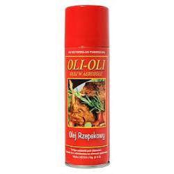 OLI-OLI Olej Rzepakowy Bezkaloryczny Spray do smażenia