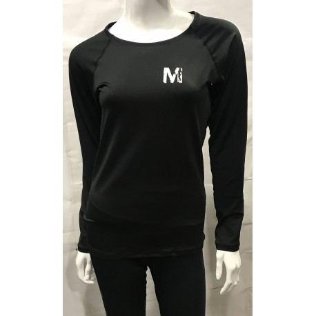 Mordex koszulka treningowa damska długi rękaw czarna