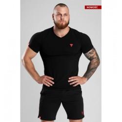 Trec Wear TSHIRT VNECK TREC 02 BLACK