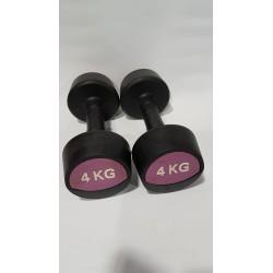 Bauer Fitness hantle gumowane 4 kg