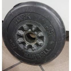 YORK BARBELL - obciążenie do ćwiczeń 2,3 kg (używane)