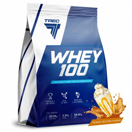 TREC NUTRITION WHEY 100 900 GR