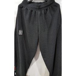 Mordex Spodnie długie prążki czarne