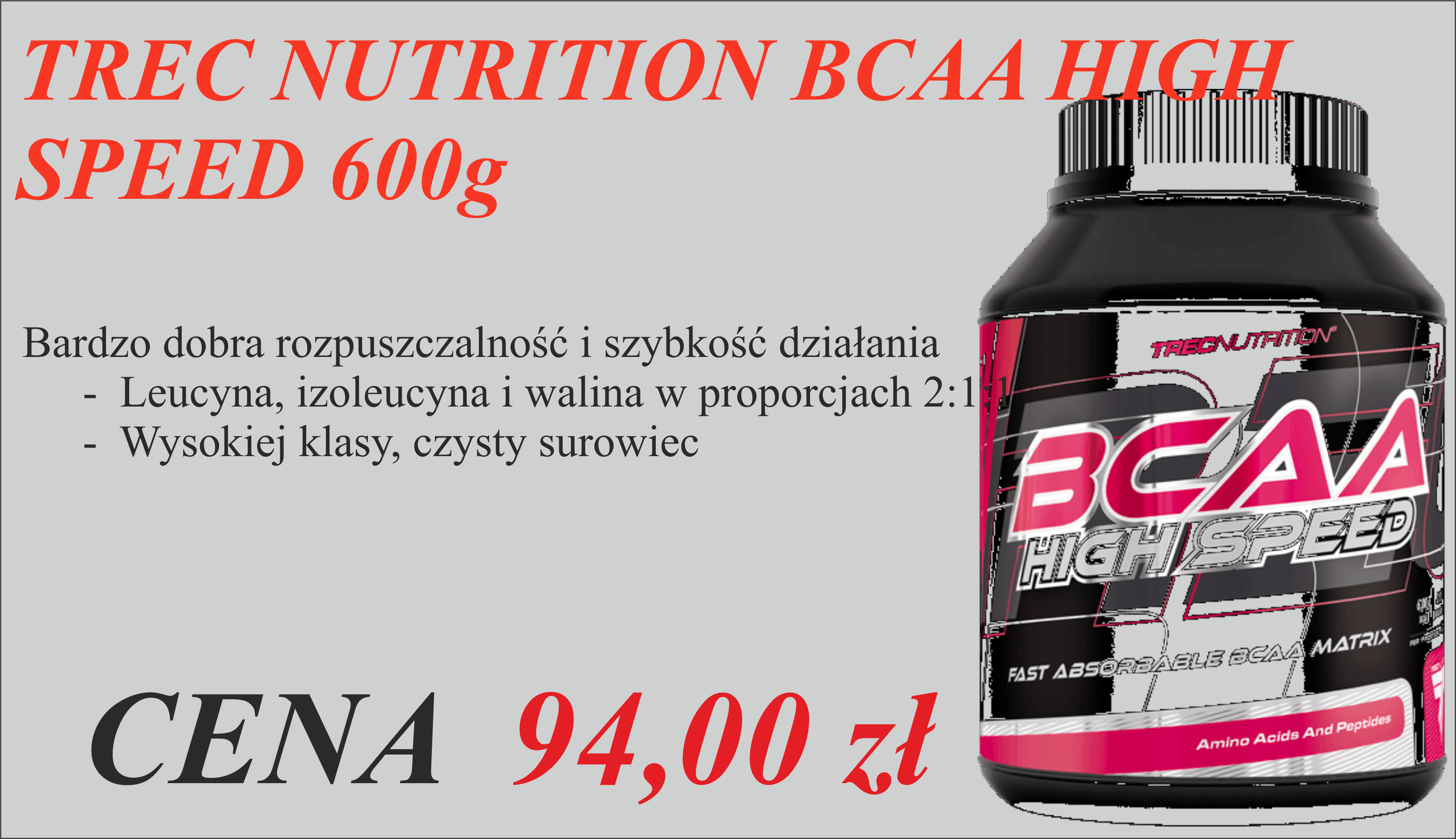 TREC NUTRITION BCAA