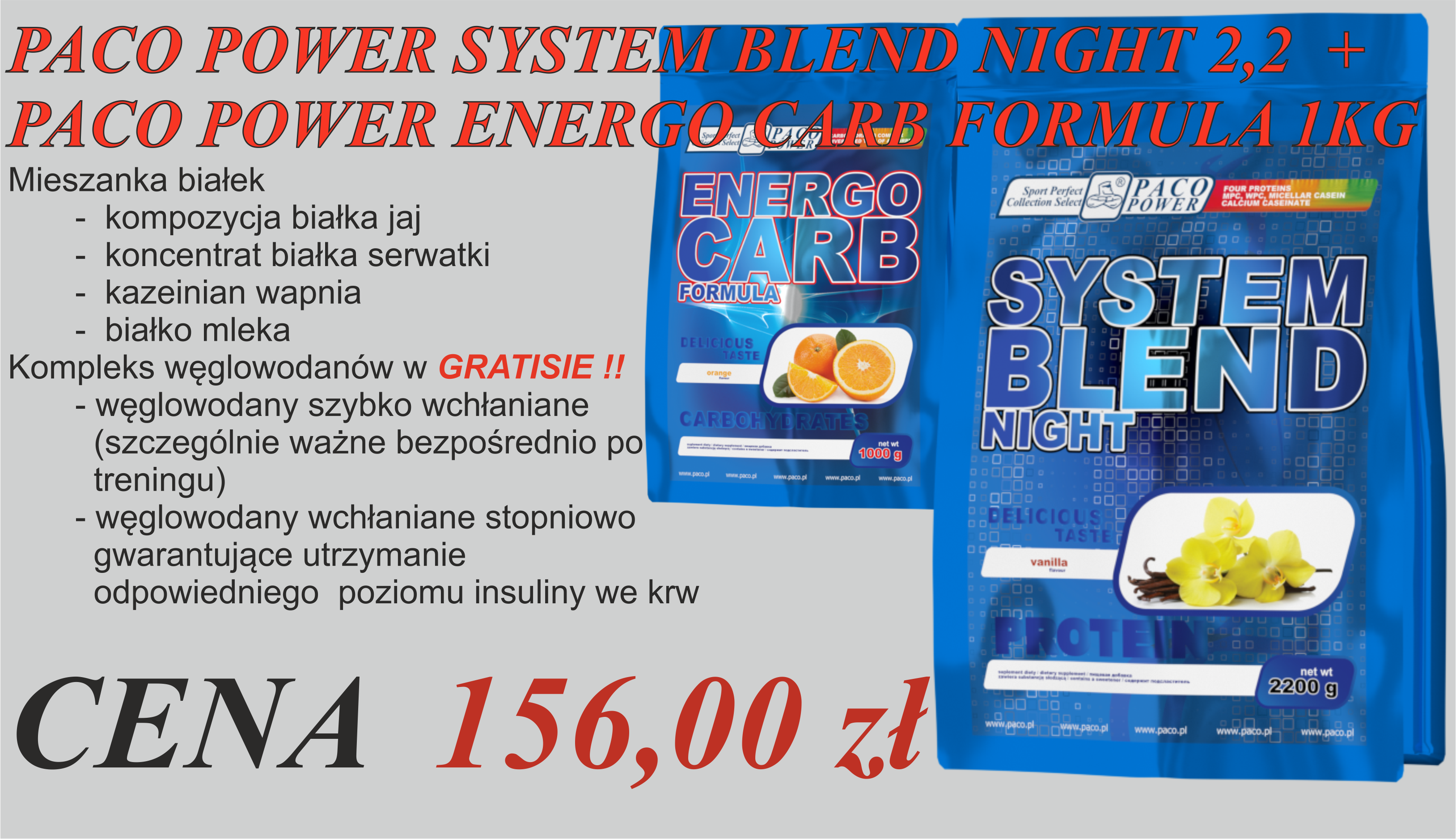 PACO POWER SYSTEM BLEND NIGHT