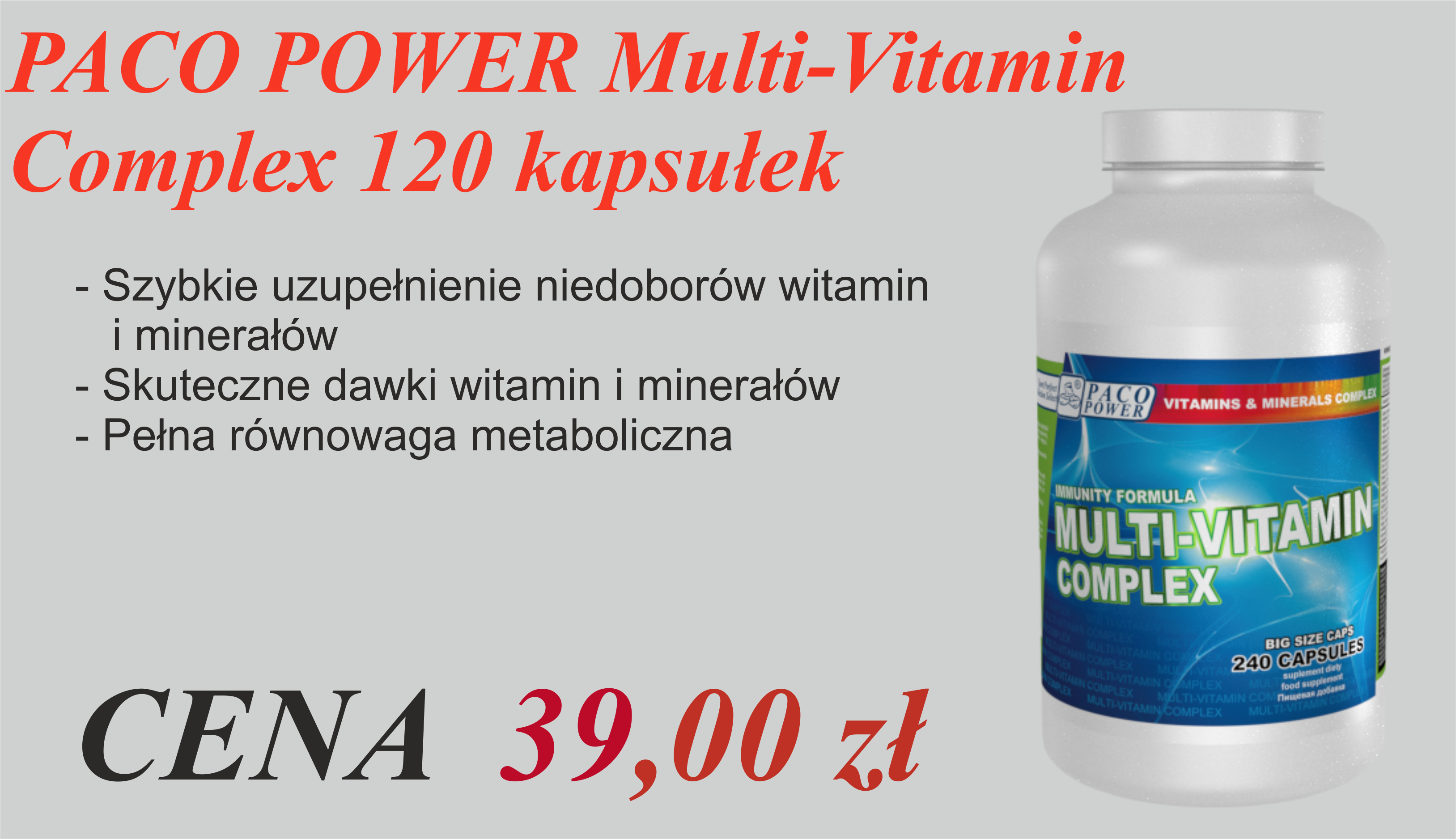 PACO POWER Multi-Vitamin